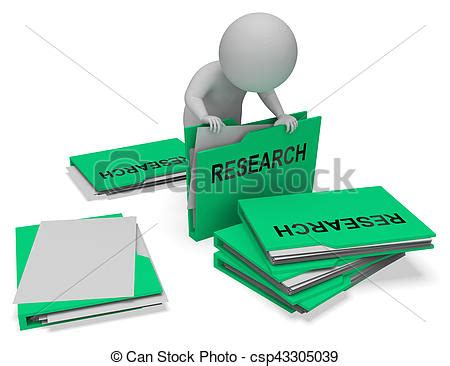 Gathering materials in research paper design